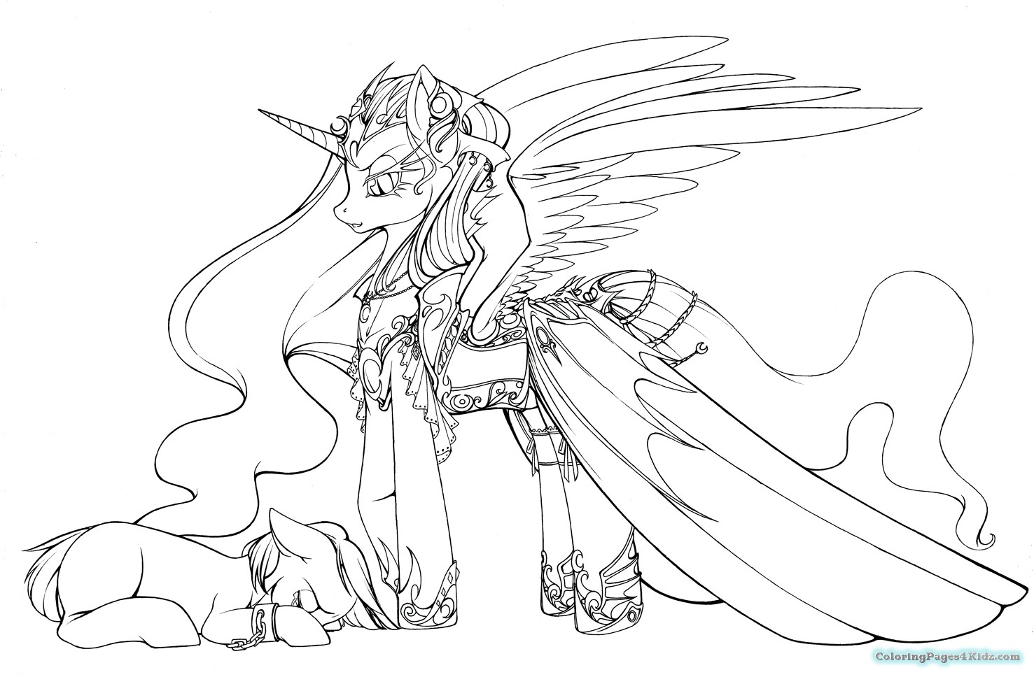 1477x968 Nightmare Moon My Little Pony Coloring Pages Coloring Pages For Kids