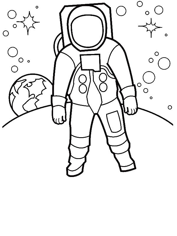 600x800 An Astronaut Walking