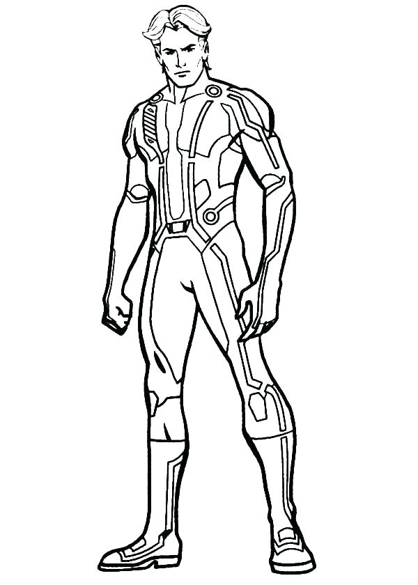 600x840 Man Of Steel Coloring Pages Man Of Steel Coloring Pages Tron