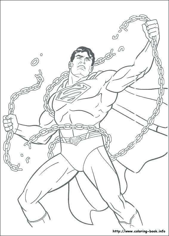 567x794 Super Man Coloring Pages Superman Coloring Pages Superman Man
