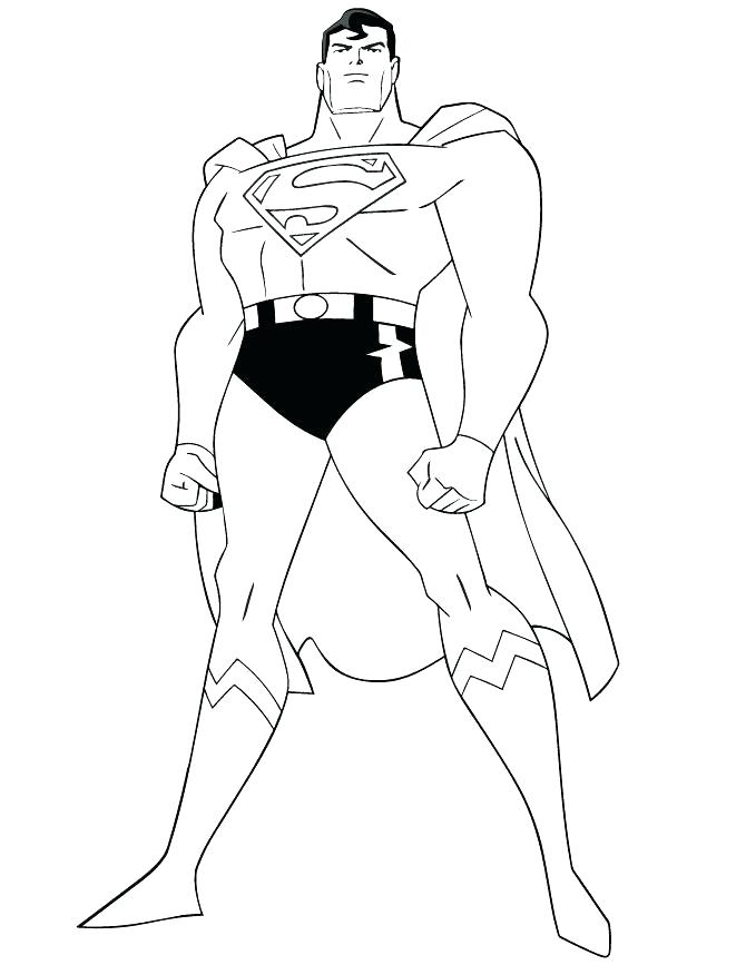 670x867 Superman Coloring Page Man Of Steel Coloring Pages Superhero
