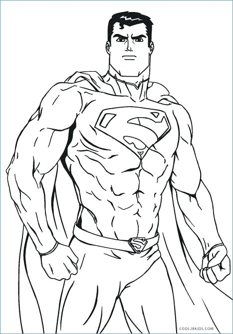 467x670 Man Of Steel Coloring Pages