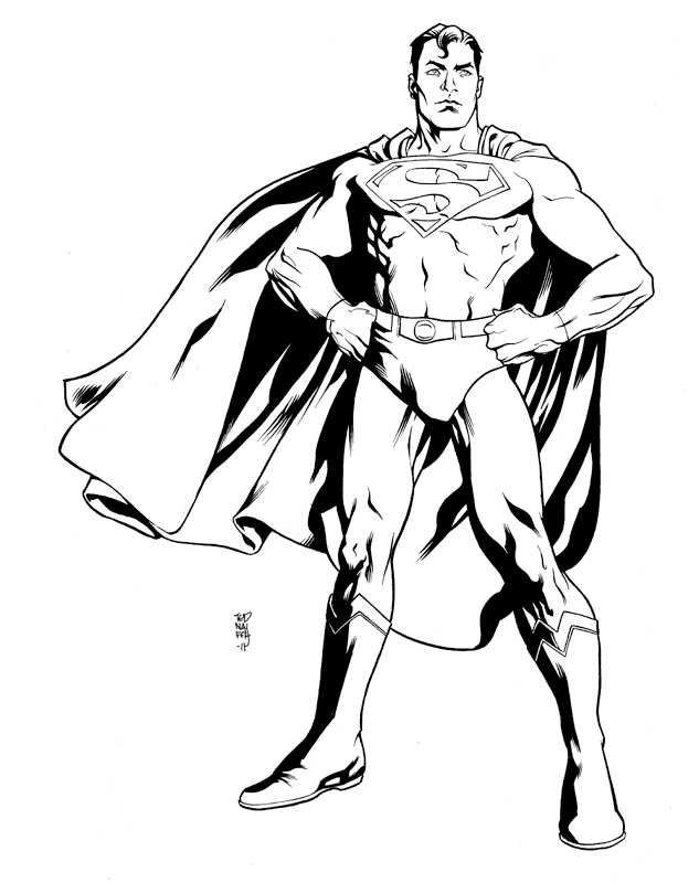 633x800 Printable Coloring Pages Of Man Of Steel Free Coloring Pages