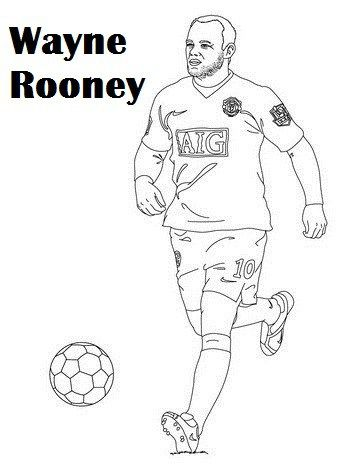Man U Coloring Pages