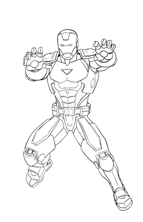 580x896 Iron Man Coloring Pages Coloring Pages Iron Man Coloring Page