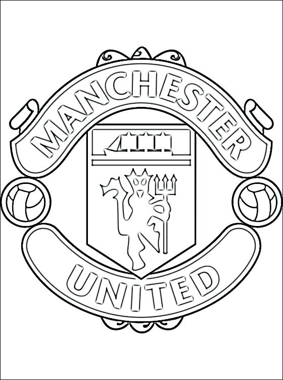 560x750 Man United Coloring Pages Page Of Logo Fuhrer Von