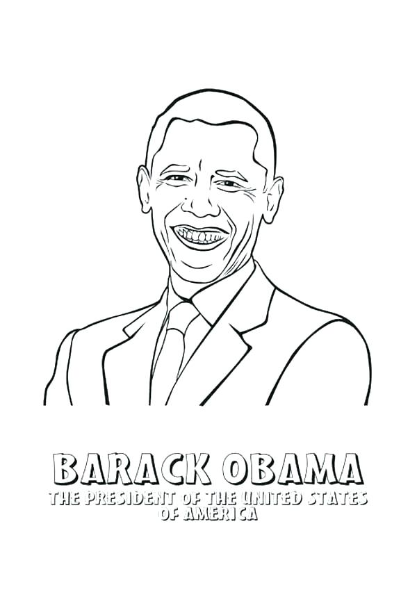 600x862 Obama Coloring Page Coloring Page Simple Coloring Page New