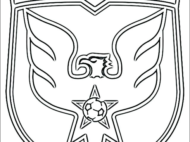 640x480 Manchester United Coloring Pages Man Utd Logo Colouring Pages