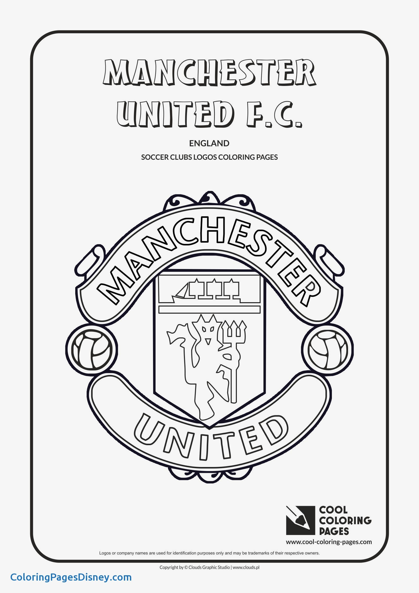 1654x2339 Soccer Coloring Pages Lovely Manchester United Soccer Club Logo