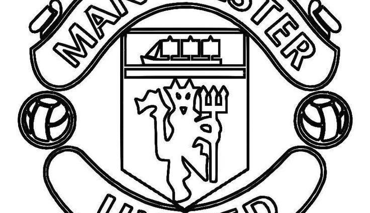 736x425 Man Utd Coloring Pages Best United Images On Man