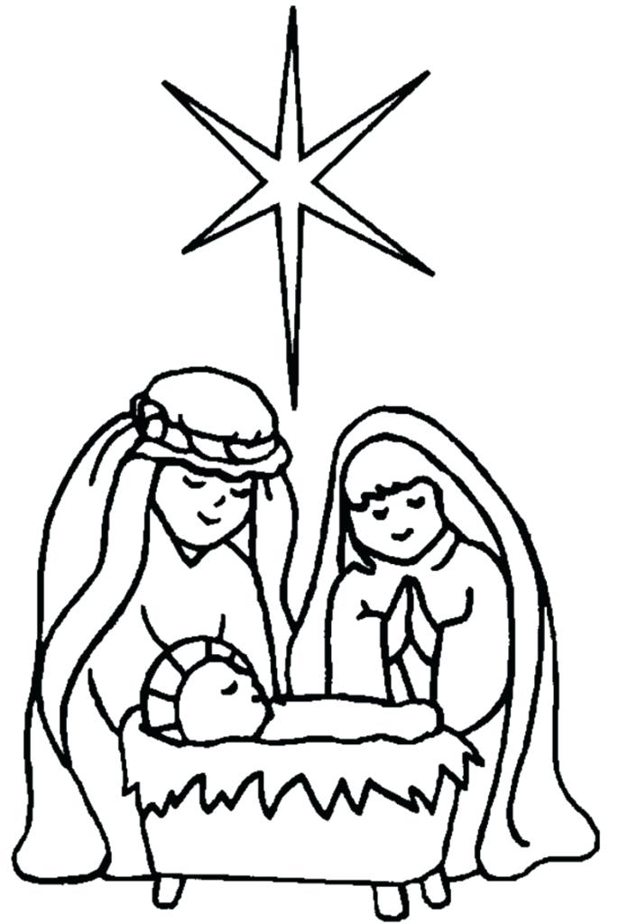 706x1024 Manger Coloring Page Nativity Scene Coloring Pages To Print