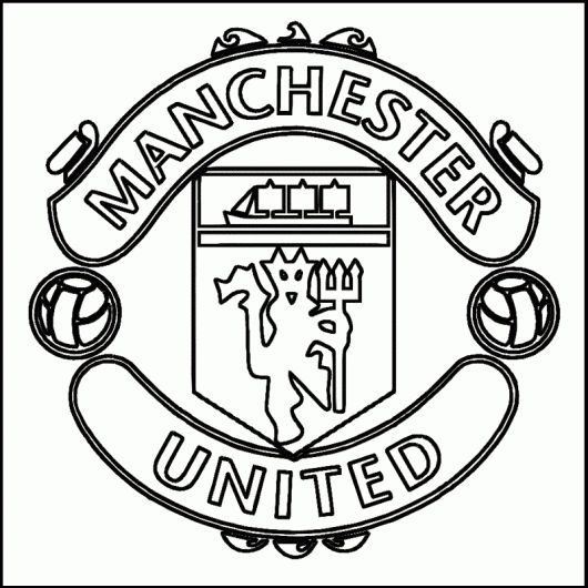 Manchester United Coloring Pages