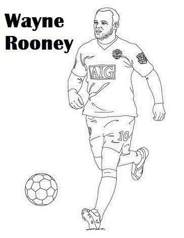 364x470 Manchester United Players Colouring Pages Coloring Page For Kids
