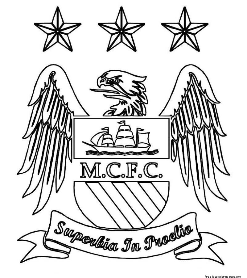 801x900 Manchester United Printable Coloring Pages