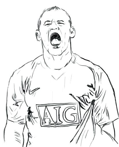 415x512 Manchester United Logo Coloring Pages Fuhrer Von