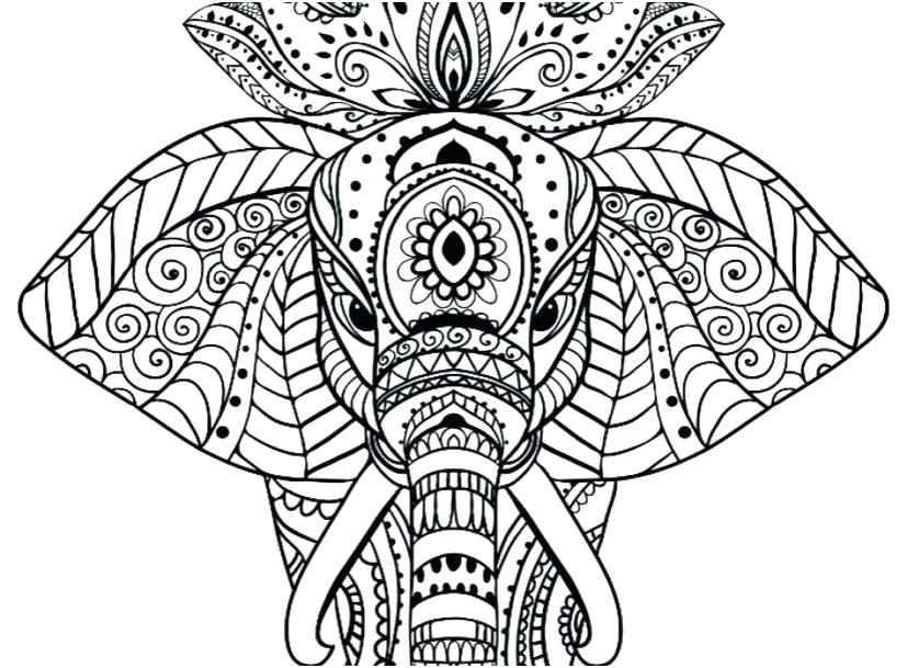 827x609 Coloring Pages Of Mandalas Amazing Animal Horse Mandala Coloring
