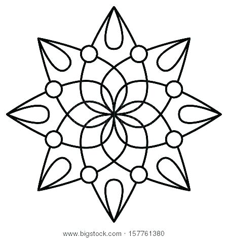 450x470 Easy Mandala Coloring Pages Easy Printable Mandala Coloring Pages