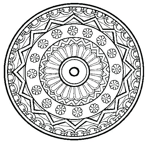 500x484 Therapy Coloring Pages Art Therapy Mandalas To Choose From Great