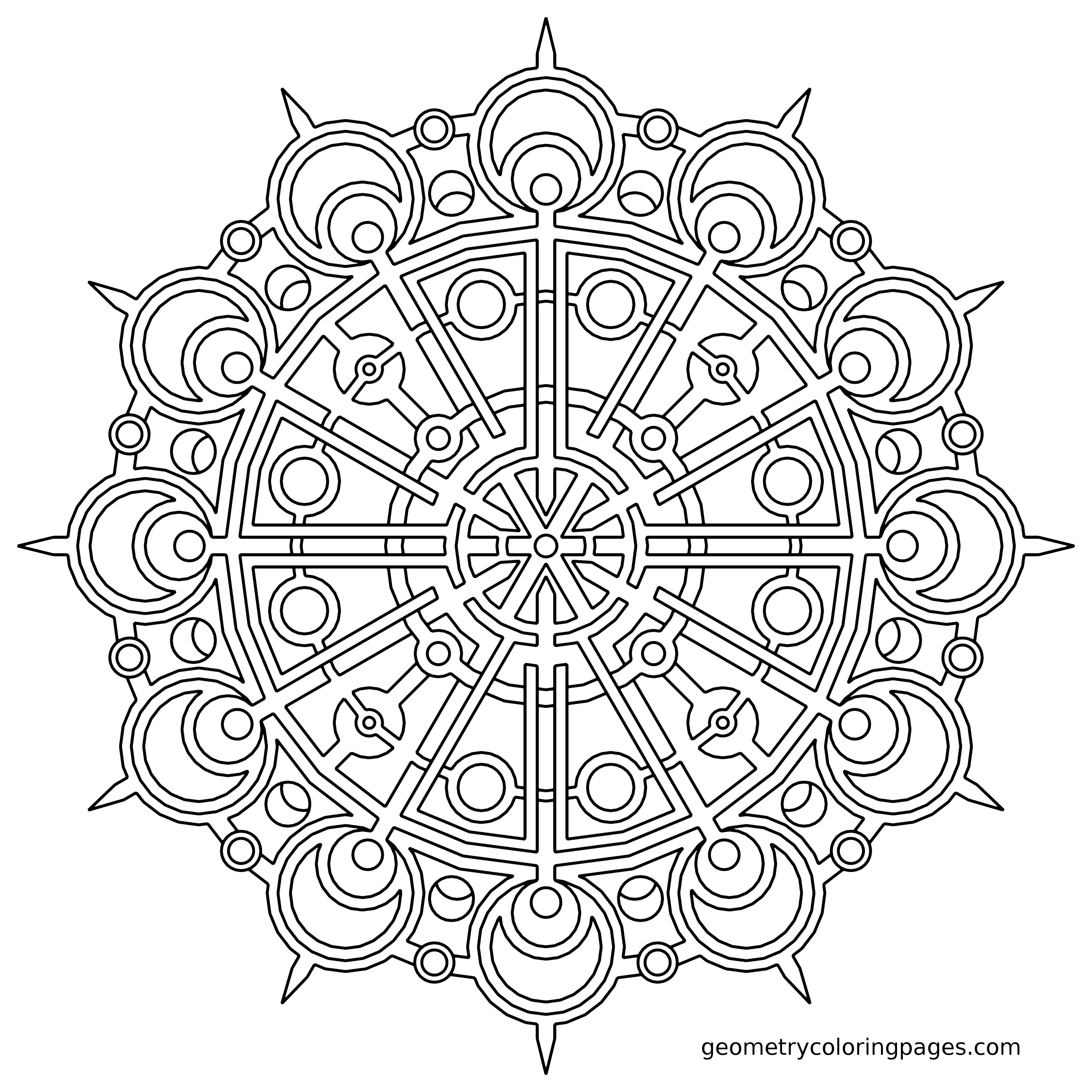 3400x3400 Best Of Mandala Coloring Pages Mandaly