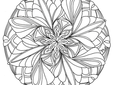 440x330 Mandala Coloring Pages Expert Level, Free Coloring Pages