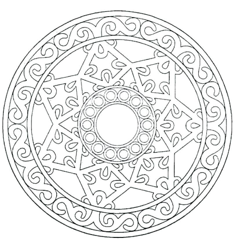 842x850 Mandala Coloring Pages Advanced Level S F Mandala Coloring Pages