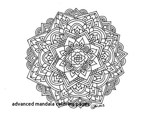 500x401 Advanced Mandala Coloring Pages Fresh Mandala Coloring Pages