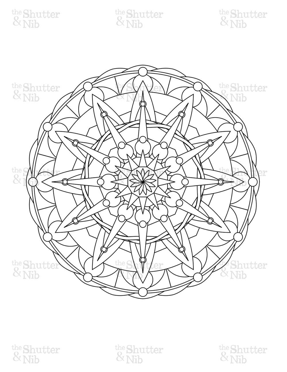 1000x1294 Astonishing Advanced Christmas Mandala With Angels Arts Culture