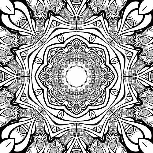 500x500 Free Mandala Coloring Pages Seekliza Mandala Coloring Pages