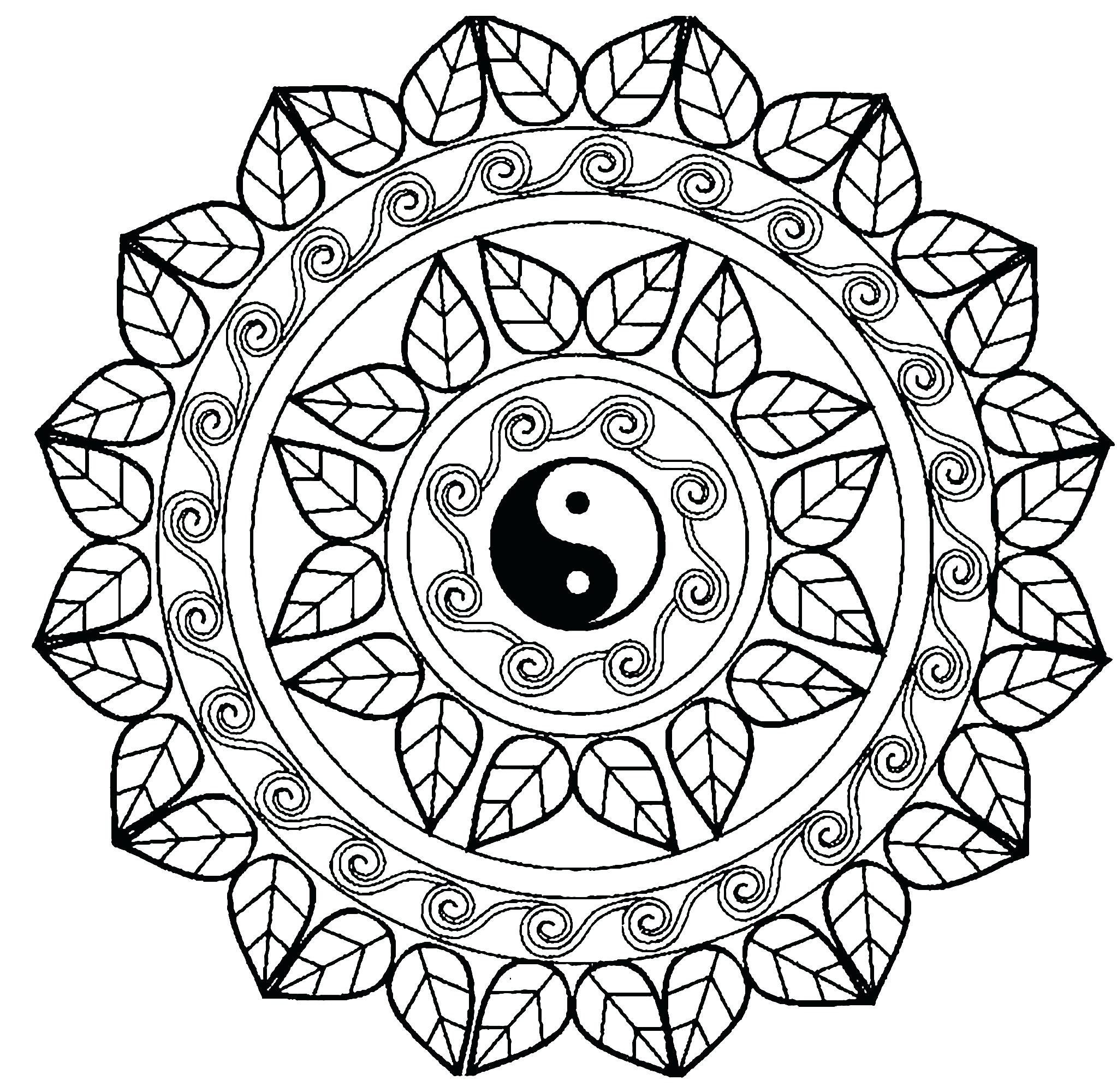 2046x2000 Fresh Mandala Coloring Pages Advanced Level Collection Printable
