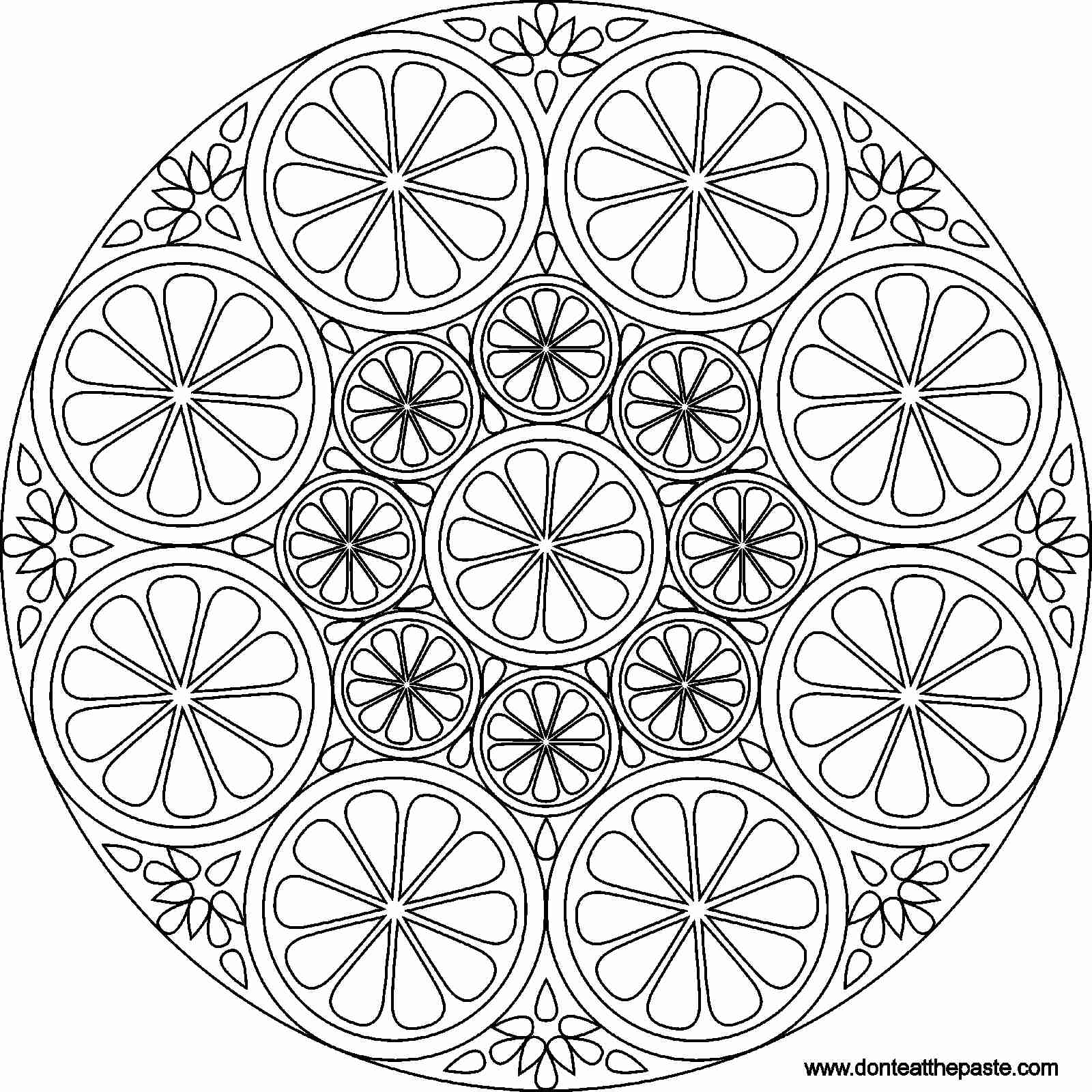 1600x1600 Mandala Coloring Pages Advanced Level Google Search Incredible