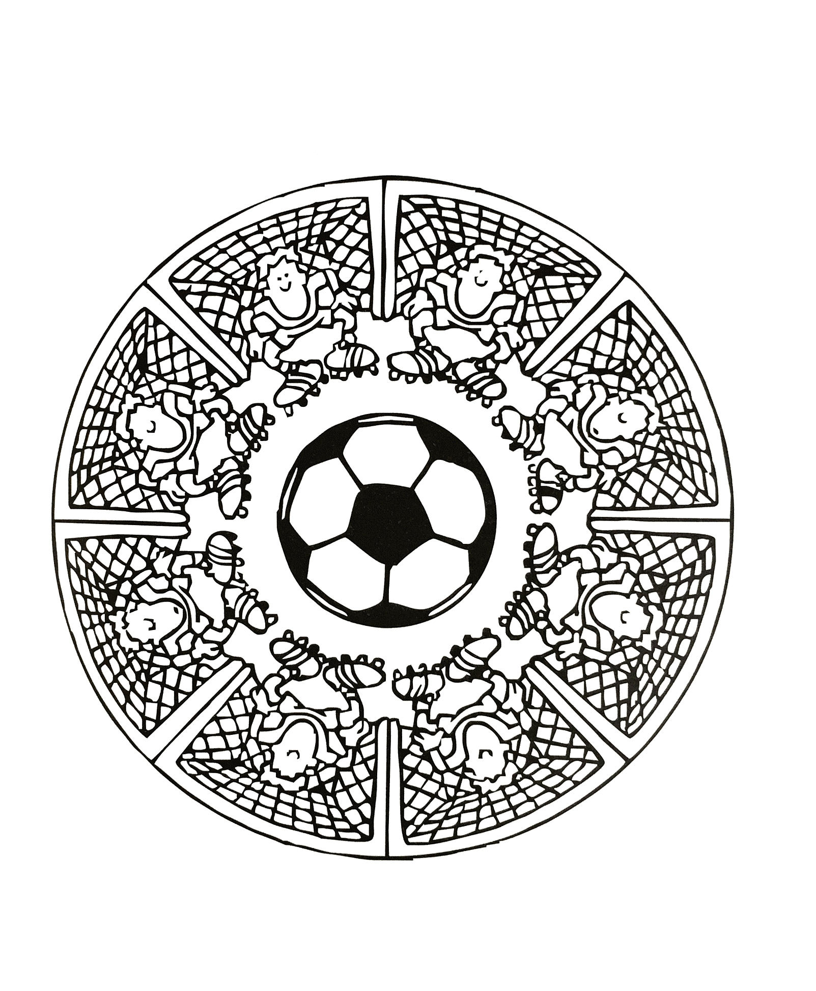 1603x1946 Mandala Coloring Pages Expert Level