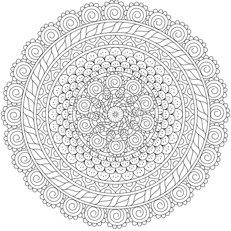 736x736 Best Printable Mandalas To Color