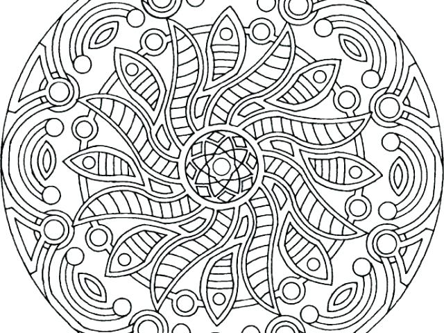 640x480 Free Printable Abstract Coloring Pages Free Printable Abstract