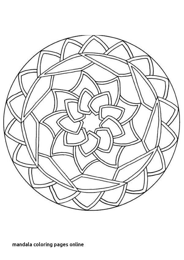 Mandala Coloring Pages Online