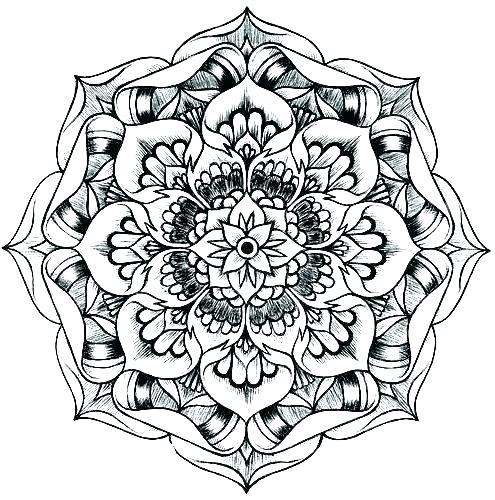 495x500 Mandala Coloring Page Mandala Coloring Pages Online