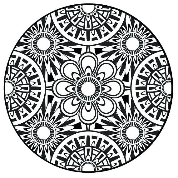 570x570 Mandala Coloring Pages Online New Mandala Coloring Pages In Online