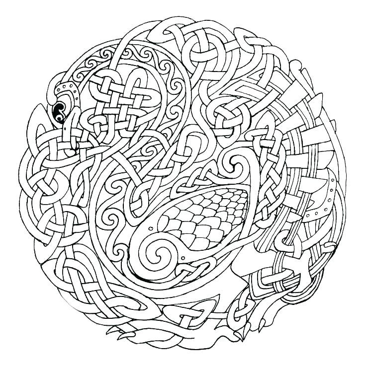 736x739 Advanced Mandala Coloring Pages Advanced Mandala Coloring Pages