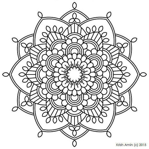 570x569 Mandala Coloring Pages Pdf At Book Online With Mandalas Remodel