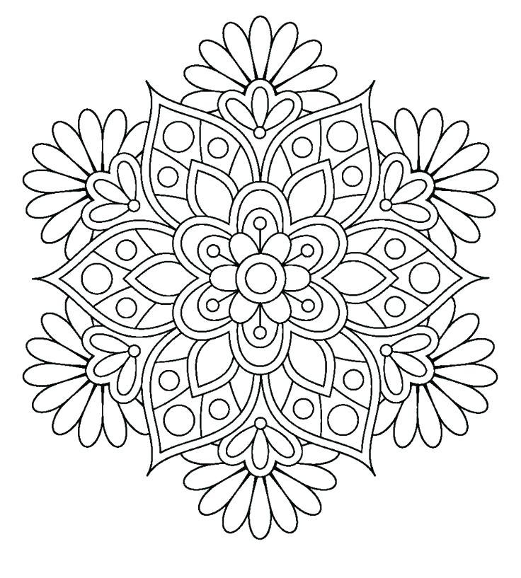 736x817 Online Mandala Coloring Pages Mandala Coloring Sheets Together