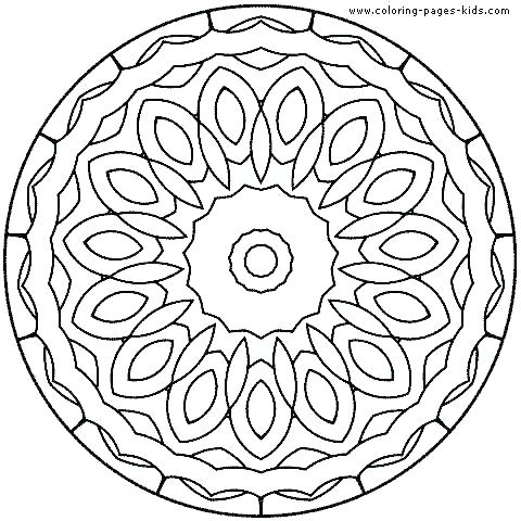 480x480 Online Mandala Coloring Pages Online Mandala Coloring Pages