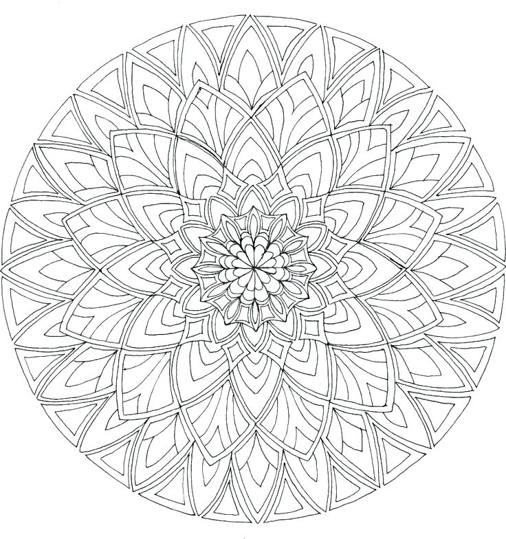 736x784 Online Mandala Coloring Pages Online Mandalas Coloring Pages Free