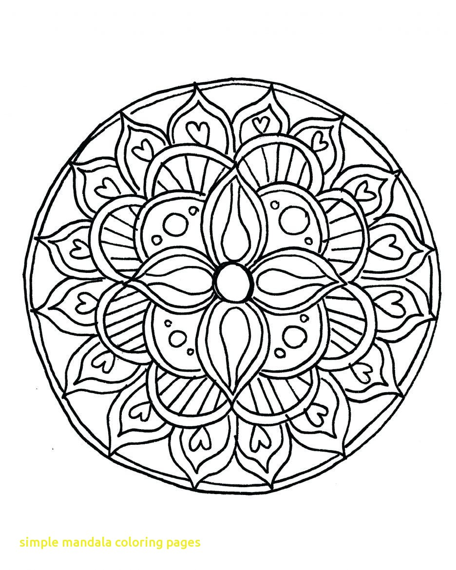 936x1170 Simple Mandala Coloring Pages Pdf Archives Wkwedding Co New Faba