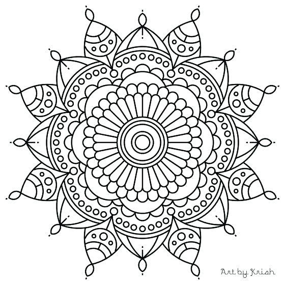 560x560 Free Mandala Coloring Pages Coloring Book Trees Plus Mandala