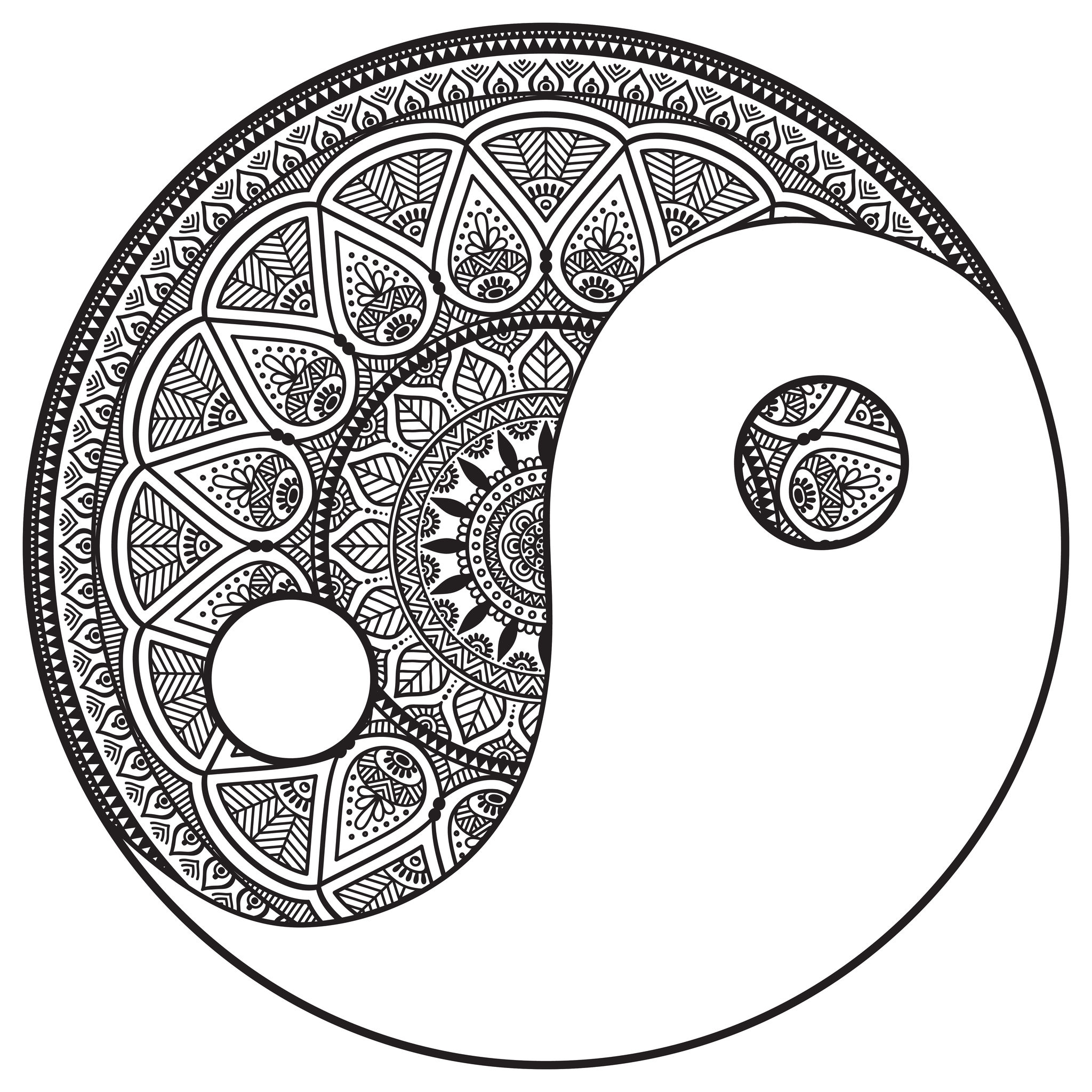 2048x2048 Lovely Mandala Color Pages For Coloring Pages Online