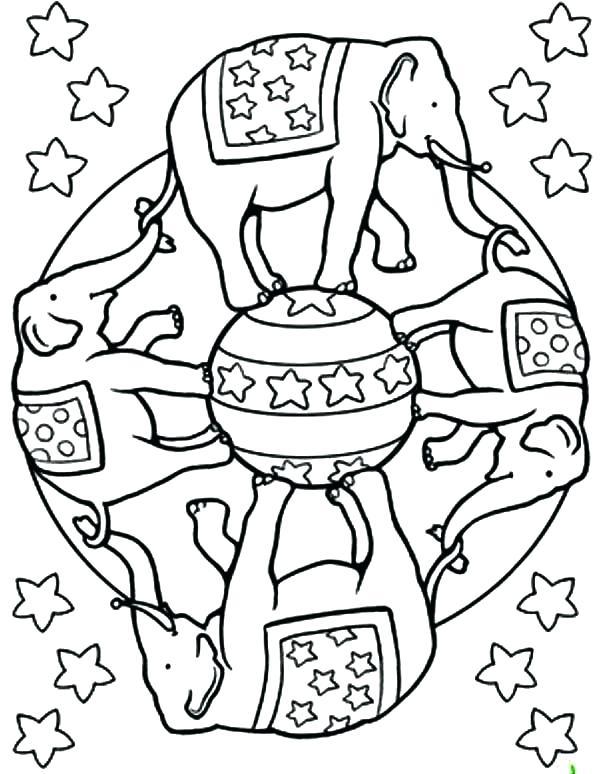 600x774 Easy Mandala Coloring Pages Mandala Coloring Sheets Circus