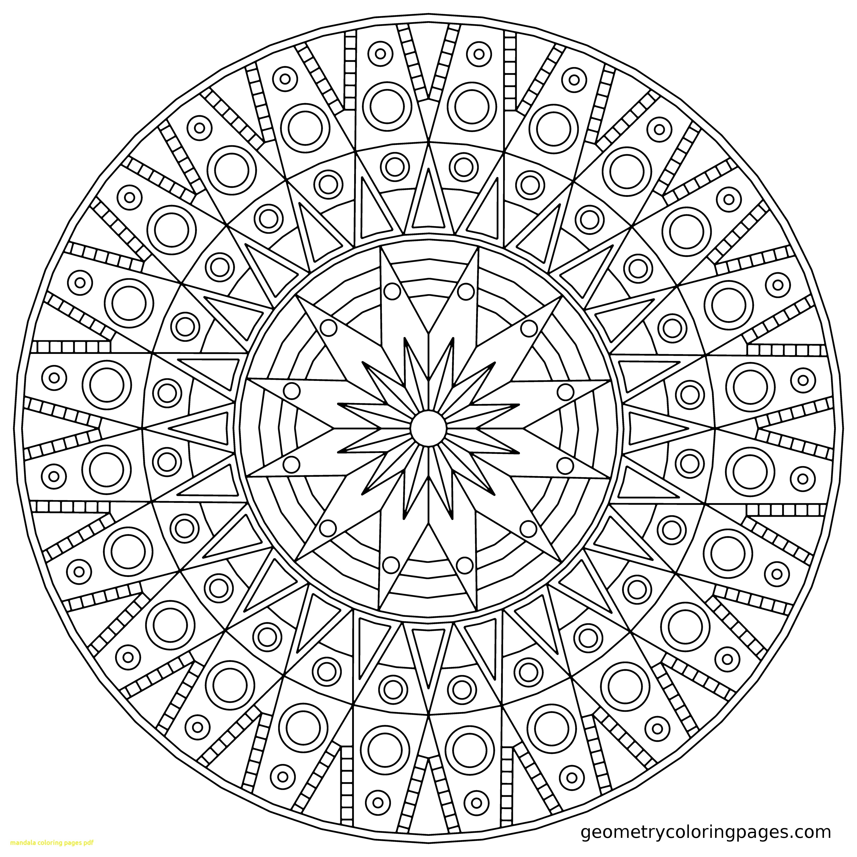 3400x3400 Geometric Mandala Coloring Pages Download Coloring For Kids