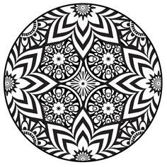 236x236 Mandala Coloring Pages Pdf Mandala Coloring Page, Instant Pdf