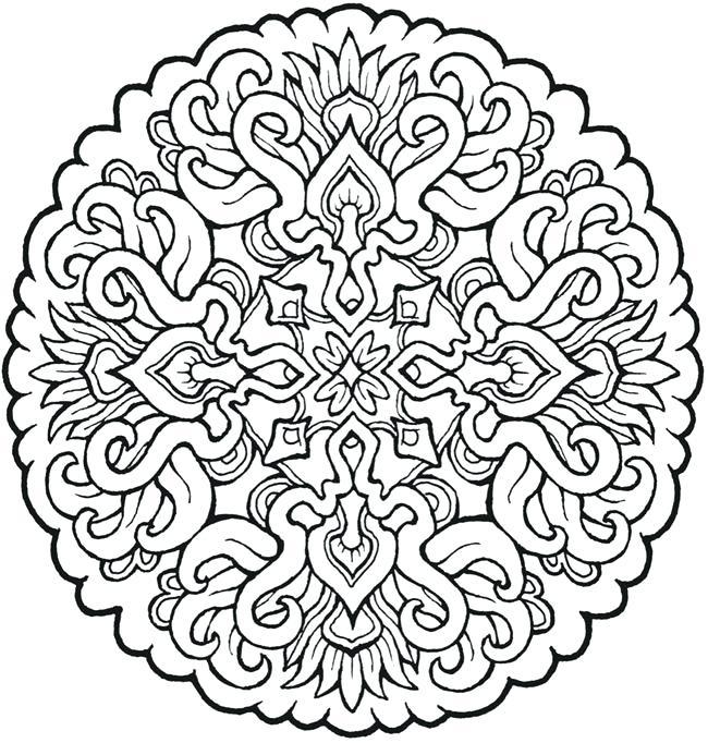 650x682 Mandala Coloring Pages Pdf Best Mandala Coloring Pages Pdf Print
