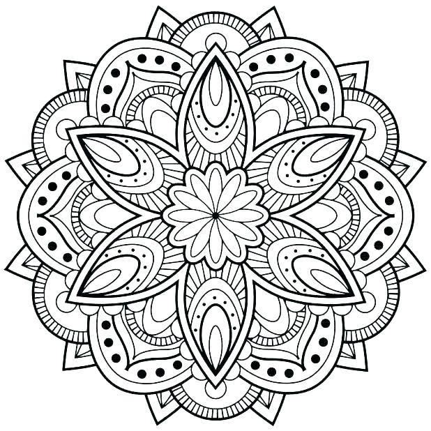618x618 Mandela Coloring S Mandala Coloring Pages App