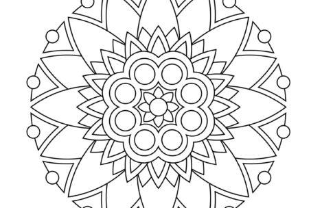 469x304 Mandala Coloring Pages Pdf Just Colorings